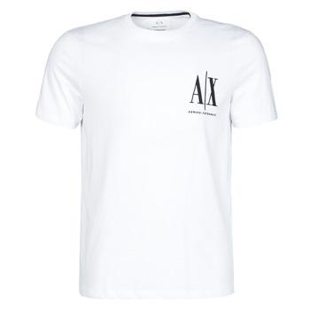 Vêtements Homme T-shirts manches courtes Armani Exchange 8NZTPH-ZJH4Z Blanc