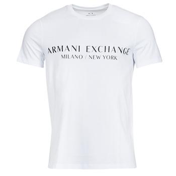 Vêtements Homme T-shirts manches courtes Armani Exchange 8NZT72-Z8H4Z Blanc
