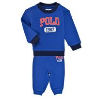 Vêtements Garçon Ensembles enfant Polo Ralph Lauren NOELLE Bleu