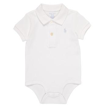 Vêtements Garçon Pyjamas / Chemises de nuit Polo Ralph Lauren NOUVEL Blanc