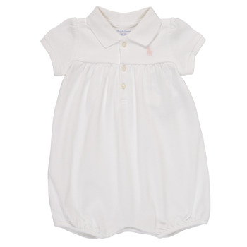 Vêtements Fille Combinaisons / Salopettes Polo Ralph Lauren SIMONE Blanc