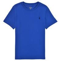 Vêtements Garçon T-shirts manches courtes Polo Ralph Lauren ELIVA Bleu saphir