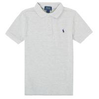 Vêtements Garçon Polos manches courtes Polo Ralph Lauren FRANCHI Blanc