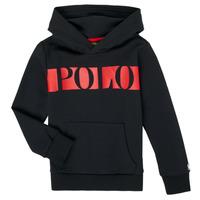 Vêtements Garçon Sweats Polo Ralph Lauren VOULLI Noir