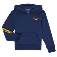 Vêtements Garçon Sweats Polo Ralph Lauren AMELIA Marine