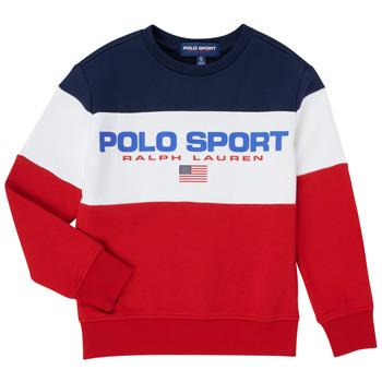 Vêtements Garçon Sweats Polo Ralph Lauren TRINITA Multicolore