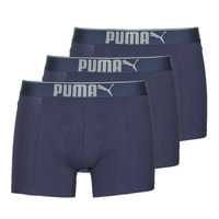 Sous-vêtements Homme Boxers Puma SUEDED COTTON X4 Marine