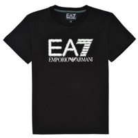 Vêtements Garçon T-shirts manches courtes Train Logo Series M Tee 1A7 3KBT53-BJ02Z-1200 Noir