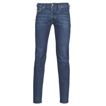Vêtements Homme Jeans skinny Diesel SLEENKER Bleu Foncé