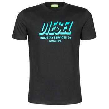 Vêtements Homme T-shirts manches courtes Diesel A01849-0GRAM-9XX Noir