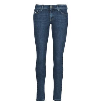 Vêtements Femme Jeans skinny Diesel SLANDY-LOW Bleu Médium