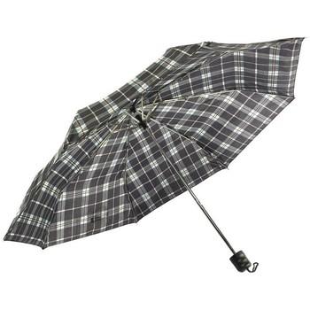 Parapluies Léon Montane Parapluie Pliant Bleu et Noir Fantaisie