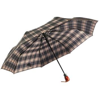 Accessoires textile Parapluies Léon Montane Parapluie Automatique Marron et Noir Fantaisie Marron
