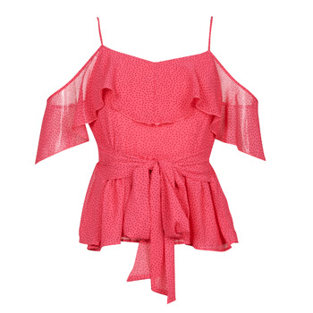 Vêtements Femme Tops / Blouses Guess SL PAULINA TOP Rose