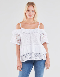 Vêtements Femme Tops / Blouses Guess SS NEW OLIMPIA TOP Blanc
