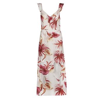 Vêtements Femme Robes longues Guess CORA DRESS Multicolore / Blanc