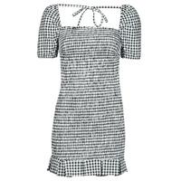 Vêtements Femme Robes courtes Guess AIDA  DRESS Noir / Blanc