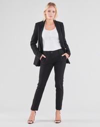 Vêtements Femme Pantalons 5 poches Guess ZOE PANTS Noir