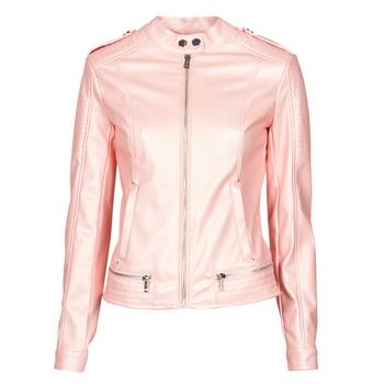 Vêtements Femme Vestes en cuir / synthétiques Guess NEW TAMMY JACKET Rose