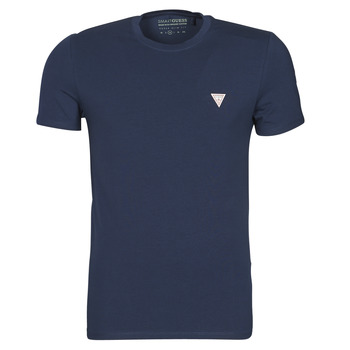 Vêtements Homme T-shirts manches courtes Guess CN SS CORE TEE Marine