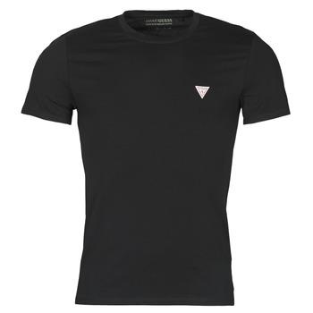 Vêtements Homme T-shirts manches courtes Guess CN SS CORE TEE Noir