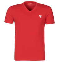 Vêtements Homme T-shirts manches courtes Guess VN SS CORE TEE Rouge