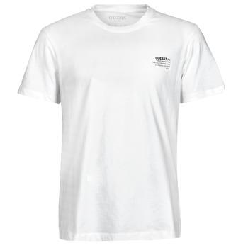 Vêtements Homme T-shirts manches courtes Guess ORGANIC BASIC CN SS TEE Blanc
