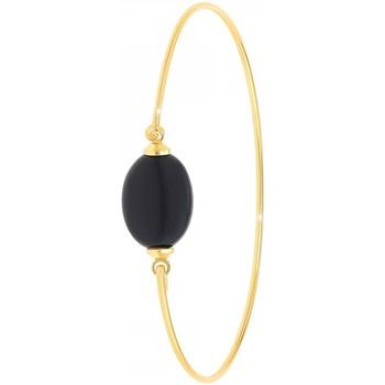 Comment faire un retour Femme Bracelets Sc Bohème B2492-NOIR Doré