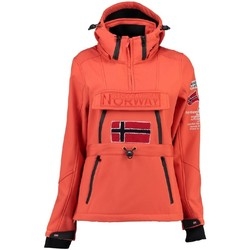 Vêtements Femme Polaires Geographical Norway Softshell Femme Topale 007 Orange