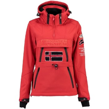 Vêtements Femme Polaires Geographical Norway Softshell Femme Topale 007 Rouge