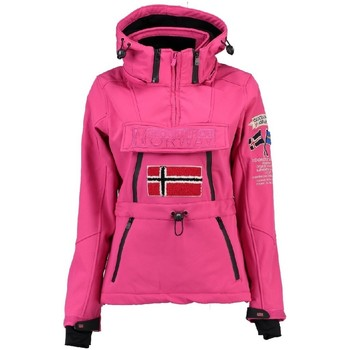 Vêtements Femme Polaires Geographical Norway Softshell Femme Topale 007 Rose