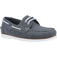 Chaussures Femme Chaussures bateau Hush puppies  Bleu marine
