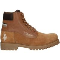 Chaussures Homme Boots U.s Polo Assn BORAL4132W0/SL1 bottes Homme MARRON MARRON