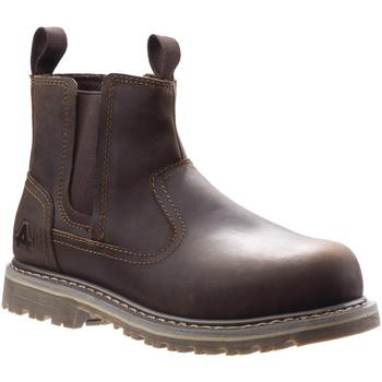 Chaussures Femme Chaussures de sécurité Amblers Safety  Marron