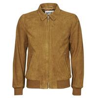 Vêtements Homme Vestes en cuir / synthétiques Schott LC YALES S Cognac