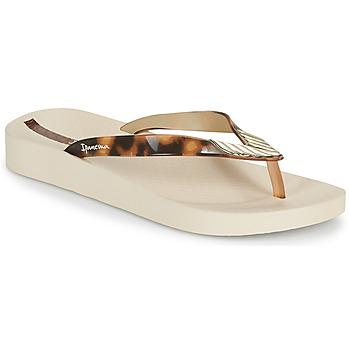 Chaussures Femme Tongs Ipanema IPANEMA ELEGANCE FEM Beige / Doré