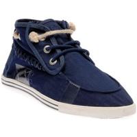 Chaussures Homme Baskets basses People'Swalk 35079BLEU Bleu