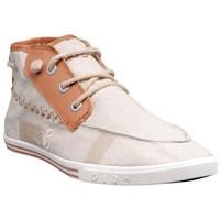Chaussures Homme Baskets montantes People'Swalk 55434BEIGE Beige