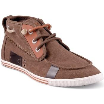 Chaussures Homme Baskets montantes People'Swalk 54754MARRON MARRON VISON Marron