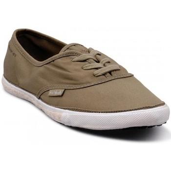 Chaussures Homme Baskets basses People'Swalk 52973VERT VERT KAKI Vert