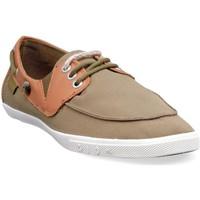 Chaussures Homme Baskets basses People'Swalk 55437VERT VERT KAKI Vert