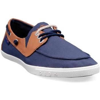 Chaussures Homme Baskets basses People'Swalk 55437BLEU BLEU MARINE Bleu