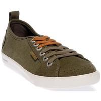 Chaussures Homme Baskets basses People'Swalk 54803VERT VERT KAKI Vert