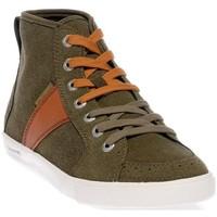 Chaussures Homme Baskets montantes People'Swalk 54804VERT VERT KAKI Vert