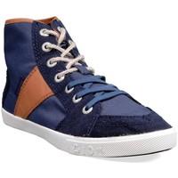 Chaussures Femme Baskets montantes People'Swalk 55436BLEU BLEU MARINE Bleu