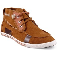 Chaussures Homme Baskets montantes People'Swalk 54754MARRON MARRON TAN Marron