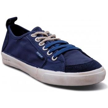 Chaussures Homme Baskets basses People'Swalk 52971BLEU BLEU MARINE Bleu