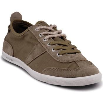 Chaussures Homme Baskets basses People'Swalk 35067VERT VERT KAKI Vert