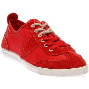 Chaussures Homme Baskets basses People'Swalk 35064ROUGE Rouge