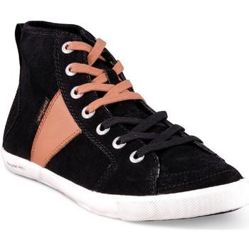 Chaussures Homme Baskets montantes People'Swalk 54804NOIR Noir